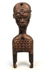 Art Africain - Poulie de Métier à Tisser Baoulé - Ancienne & Usuelle - 24 Cms ++