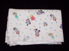 Beacon Raggedy Ann and & Andy Baby Blanket Flannel Acrylic Binding Trim 1675