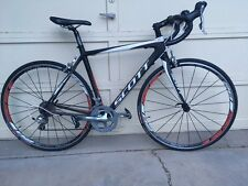 Scott CR1 2012 full carbon fiber road bike, Shimano Tiagra, 52cm
