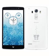 LG Disney Mobile DM-01G DOCOMO Swarovski Android Smartphone Unlocked Pure White