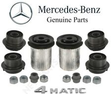 For MB W211 W220 4Matic Pair Set of 2 Front Lower Control Arm Bushing Kits OES
