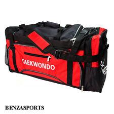Taekwondo Karate sparring gear bag, taekwondo bag, sports bag color Red/black