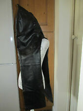 LEATHER TROUSERS SIZE 12