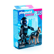 PLAYMOBIL® 5369 Special Plus - SEK-Polizist / Polizei mit Hund NEU / OVP