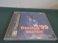 Freestyle Boardin '99 PS1 (Sony PlayStation 1) ***BRAND NEW***SEALED***