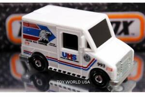 2021 Matchbox City Adventure II MBX Service Truck United Mail Services