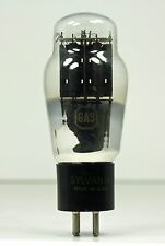 Vintage Sylvania 6A3 Power Amplifier Tube Black Plate Hickok Tested-Rattle