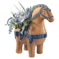 "17.5"" Ancient Greek Arion Horse Garden Home Planter"