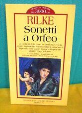 Rilke SONETTI A ORFEO a cura di Ajazzi Mancini Grandi Tascabili Economici Newton