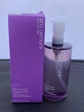 Shu Uemura Blanc Chroma Brightening & Polishing Cleansing Oil 450ml NIB Purple