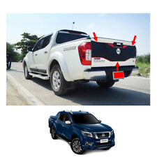 Rear Tailgate Outer Lid Cover Black Red 1 Pc For Nissan Np300 Navara D23 15 - 17