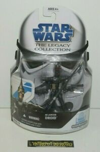 """++ figurine STAR WARS the legacy collection """" IG LANCER DROID DB n°13 2008 NEUF"""