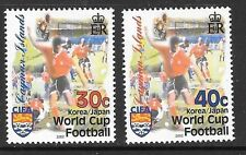 CAYMAN ISLANDS SG987/8 2002 WORLD CUP FOOTBALL    MNH