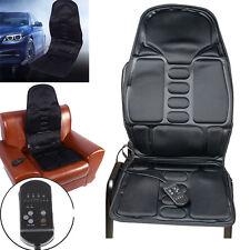 【USA】Massage Cushion Heat Back Comfort Chair Home Seat Motor Lumbar Auto Car