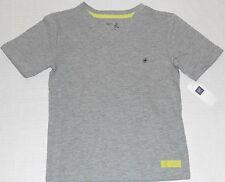 GAP Kids Boy's Gray Button Pocket V-Neck Tee Shirt Size XS (4-5)
