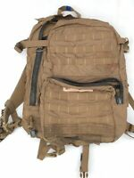 USMC FILBE ASSAULT PACK USGI 3 DAY SYSTEM COYOTE Bugout CIF Turn in/FAIR/DAMAGE