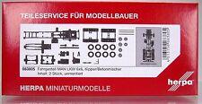 Herpa LKW  083805  Fahrgestell MAN LKW 6x6 Inhalt: 2 Stück
