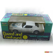 Dazed and Confused 1973 White Lightning Pontiac Trans Am 1:18 diecast ERTL model