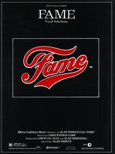 Fame Vocal Selections Learn to Sing Play POP PIANO Guitar PVG Music Book