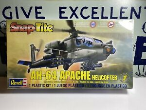 Revell Snap Tite, AH-64 Apache Helicopter, 1/72, Kit # 85-1183, Bran New Sealed