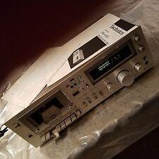 RARE! Hi-End Technics RS-M63 3-Head Cassette Deck w/Manual&Schematic Japan READ!
