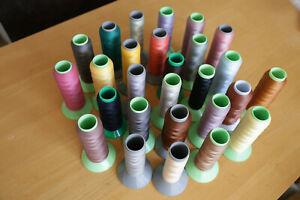 Polyester Machine Thread tulip  + Other  make s  old Japanese Asahi
