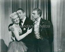 1951 Meet Me After the Show Original Press Photo Betty Grable Macdonald Carey