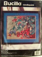 Bucilla Needlepoint Kit Berries Still Life #4691 Rare Brand New in Pkg