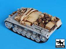 Blackdog Models 1/72 GERMAN STURMGESCHUTZ IIIE ACCESSORIES Resin Set