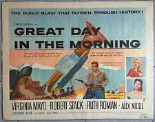 Affiche L'OR ET L'AMOUR Great day in the morning JACQUES TOURNEUR Mayo Aff US