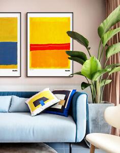 Canvas Prints Rothko Signatory Art Poster Painting(Unframed)