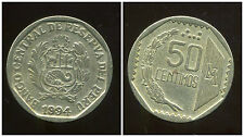 PEROU  50 centimos  1994