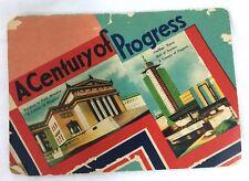 Vintage 1933 Fair Century of Progress Worlds Fair Needle Book #B10