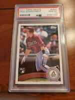 2011 Topps Update Paul Goldschmidt ROOKIE RC #US47 PSA 10 GEM MINT