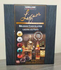 Kirkland Signature Liquor Collection Belgian Chocolate 75 Pieces Exp 03/23/2021