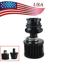 Aluminum Valve Cover Oil Cap + Air Filter Breather For LSX LS1/LS6/LS2/LS3/LS7