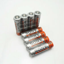 8Pcs Original New NI-MH AA HR6 2A Rechargeable Batteries 1.2V 3800mAh For SONY