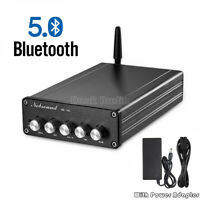 Nobsound Bluetooth HiFi 2.1 Channel Power Amplifier Subwoofer Stereo Audio Amp