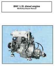 BMC 1.5 DIESEL Workshop Manuale su CD Barca Motore Riparazione Manuale