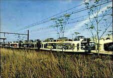 1970 Train Autos Car Sleeper Express Auto Slaaptrein Frankreich Carte Postale F.