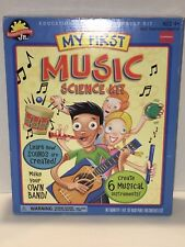 New My First Music Science Kit by Scientific Explorer Jr. Create Instruments