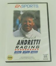 Mario Andretti Racing (Sega Genesis, 1994) With poster and case