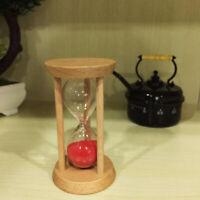 10 Minuten Sanduhr Sandglass Eieruhr Timer für Kochen Lesen Yoga Spielen Rot