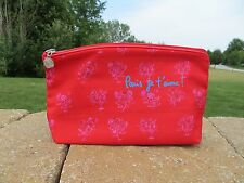 NEW - Lancome makeup bag - great for travel - red