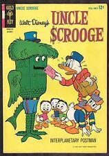 Walt Disney Uncle Scrooge #53 ~Interplanetary Postman / Gold Key ~ 1964 (5.0) WH
