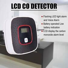 CO Carbon Monoxide Poisoning Gas Sensor Warning Alarm Detector Tester New