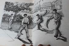 1961-68 2 Livres enfant vintage Conte L'inconnu à la pastèque, Dag et ses amis