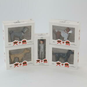 Isle of Dogs Action Figures Promotional Boxed Rex Boss Chief Duke & Atari
