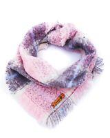 Frayed Lavender Marshmellow Dog Bandana - Tie on Classic Scarf-Small-Large