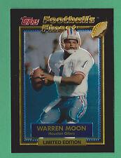 1992 Topps Football's Finest Warren Moon Houston Oilers #19